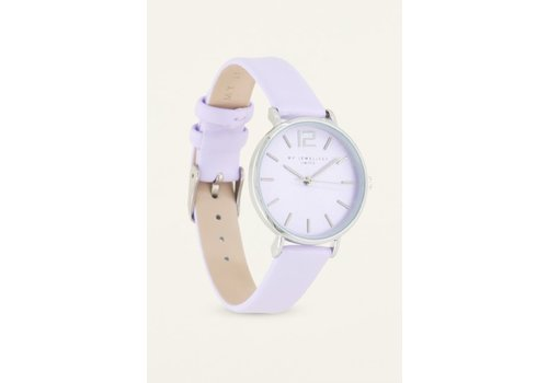 LILAC WATCH SILVER