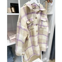 TOMMY CHECKED JACKET - ONE SIZE