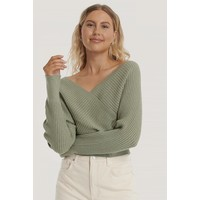KNITTED WIDE RIB SWEATER