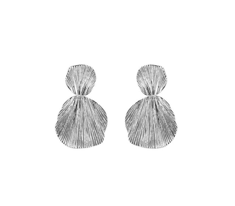 PCNABE EARRING SILVER
