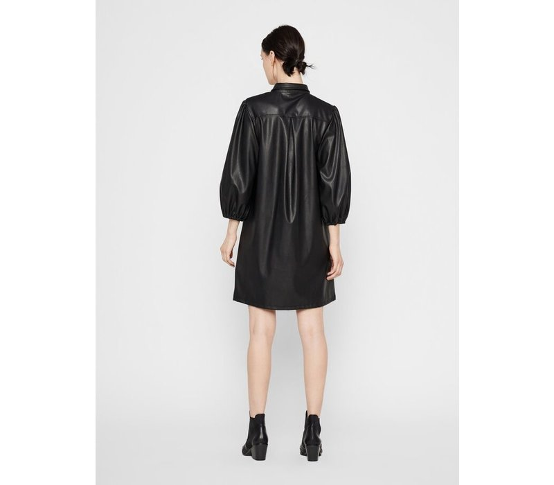 SALIRA LEATHER DRESS