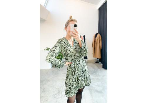 BABY LEO GREEN DRESS