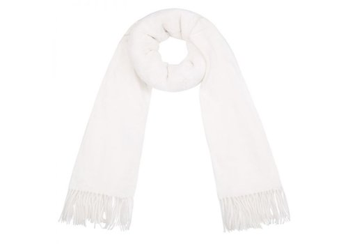SOFT AS WHITE SCARF