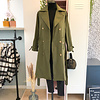 BELLE GREEN TRENCH