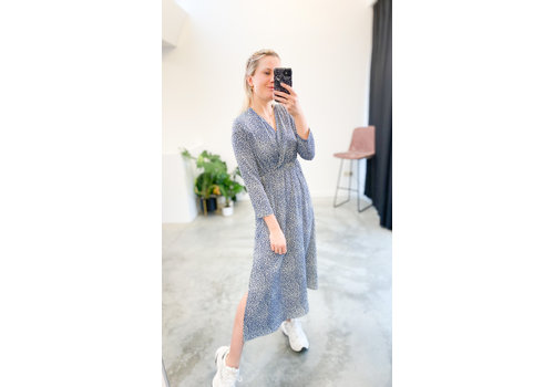 TOUCH OF BLUE LEO DRESS