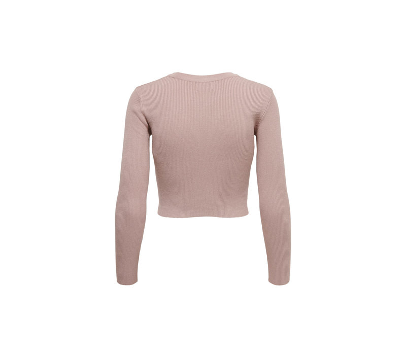 DONNEL CARDIGAN KNIT SOFT PINK