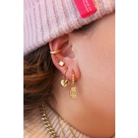 LUCKY CHARM EARRING GOLD