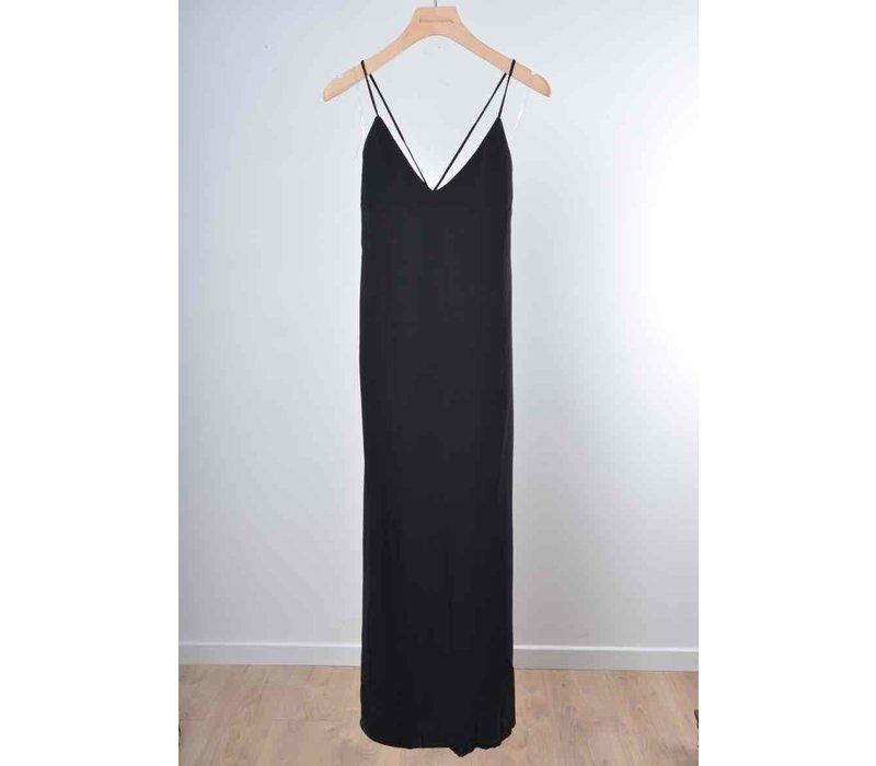 LIV STRAP DRESS BLACK