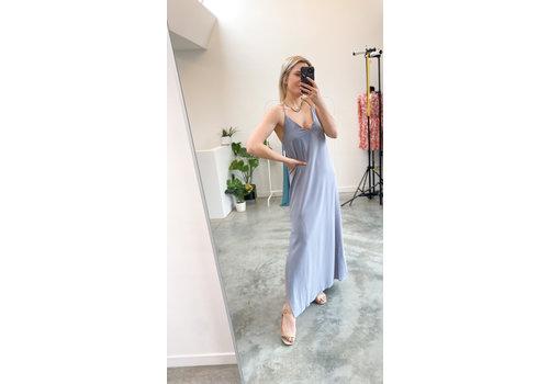 LIV STRAP DRESS BABY BLUE