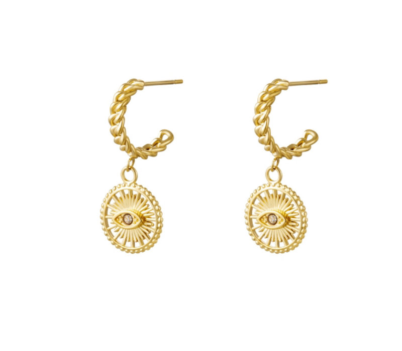 OVERLOAD EARRINGS GOLD