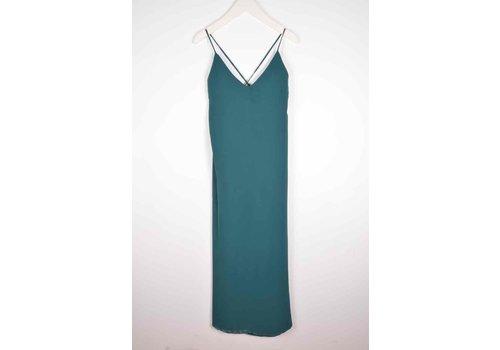 LIV STRAP DRESS ALPINE GREEN