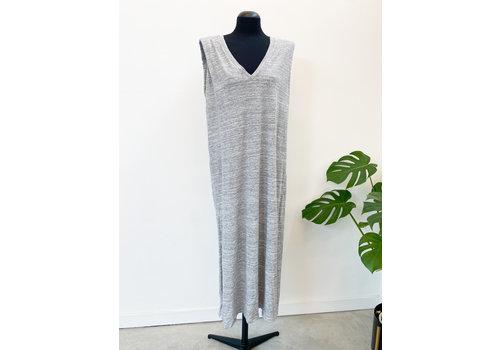 BELLA  BASIC GREY DRESS - TU