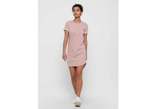 JDY IVY SHIRT DRESS - ROSE