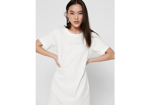 JDY IVY SHIRT DRESS - CLOUD DANCER