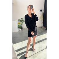 DANCY KNIT DRESS - BLACK
