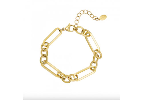 FUNKY CHAIN BRACELET GOLD