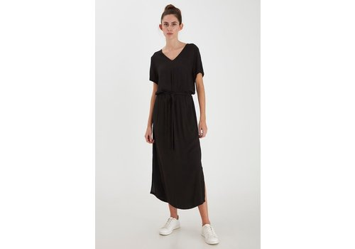 ICHI MARRAKECH DRESS BLACK
