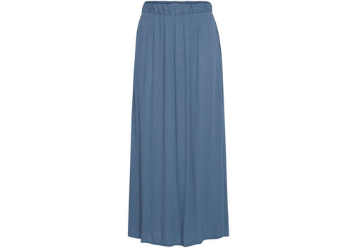 ICHI MARRAKECH SKIRT BLUE