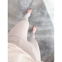 FRONT SLIT JERSEY PANTS