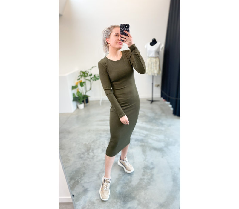 ELS KAKI DRESS