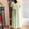 ICHI MARRAKECH DRESS GREEN