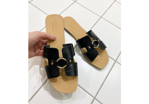 Pieces SABIA LEATHER SANDAL