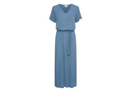 ICHI MARRAKECH DRESS - CORONET BLUE