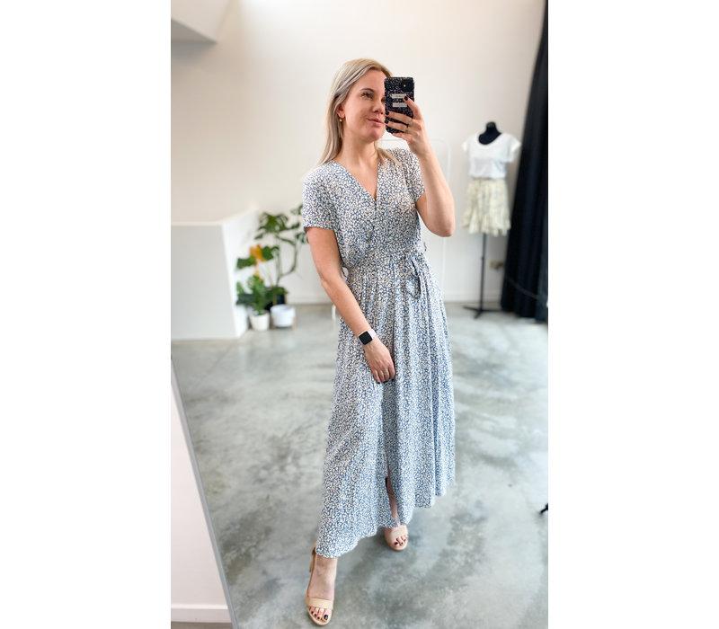 ELLEN FLOWER DRESS SKY BLUE