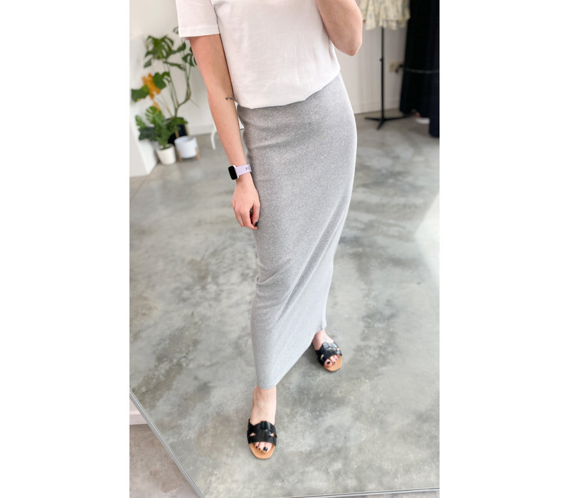 TESS GREY SKIRT - TU