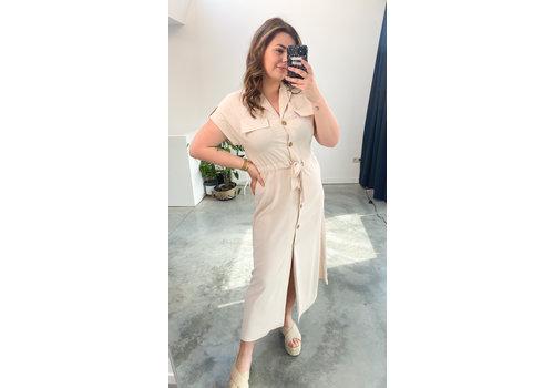 ADELLE DRESS BEIGE