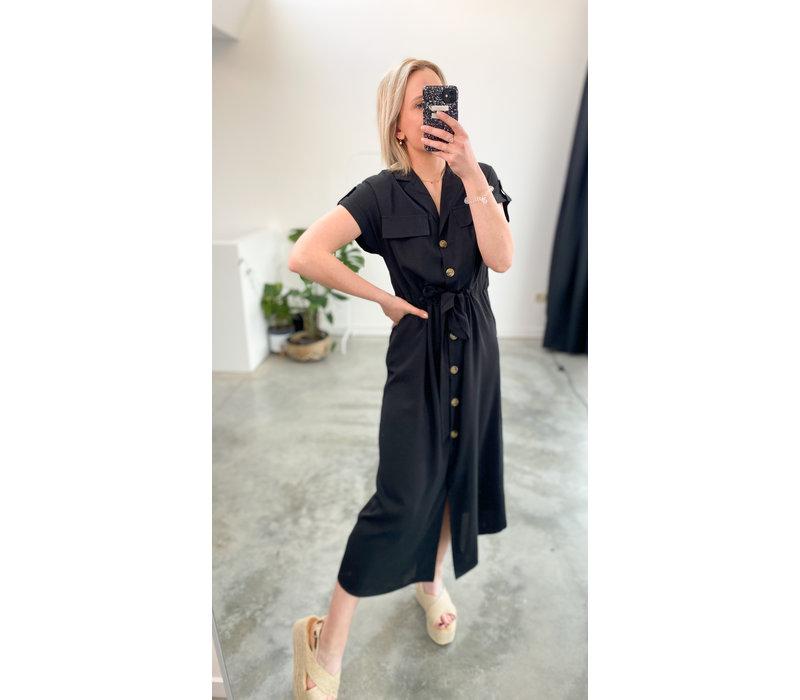 ADELLE BLACK DRESS