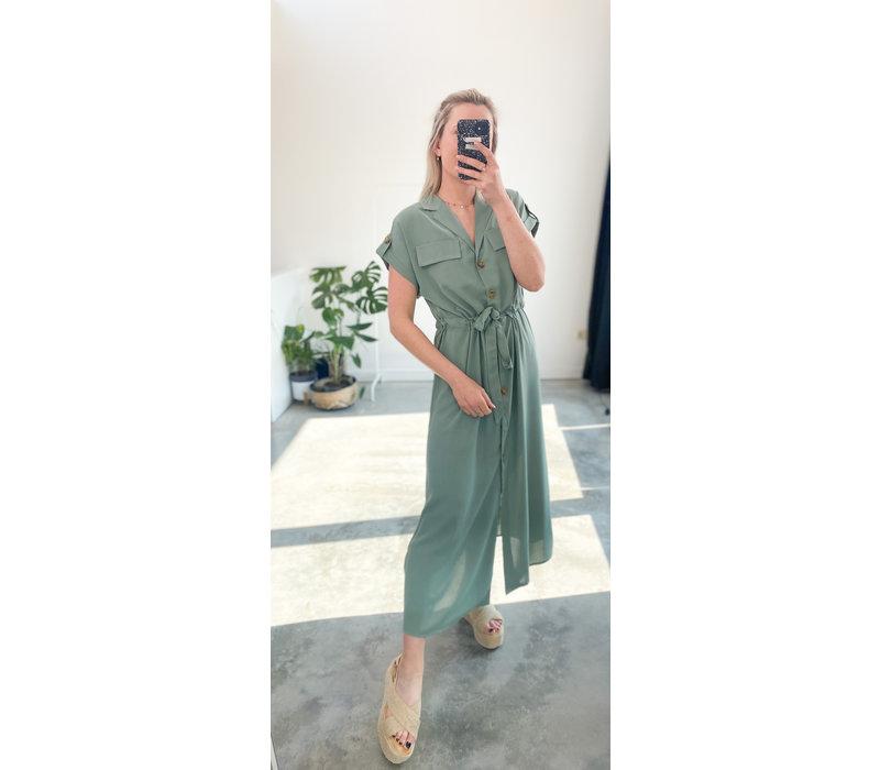 ADELLE TURQUOISE DRESS