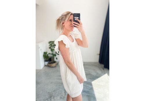 TETRA WHITE DRESS