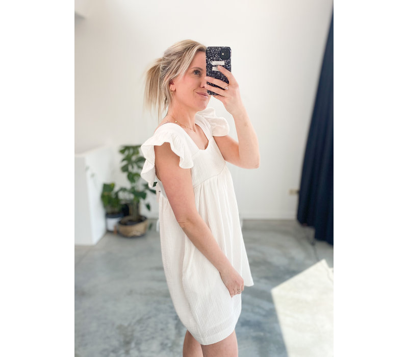 TETRA WHITE DRESS