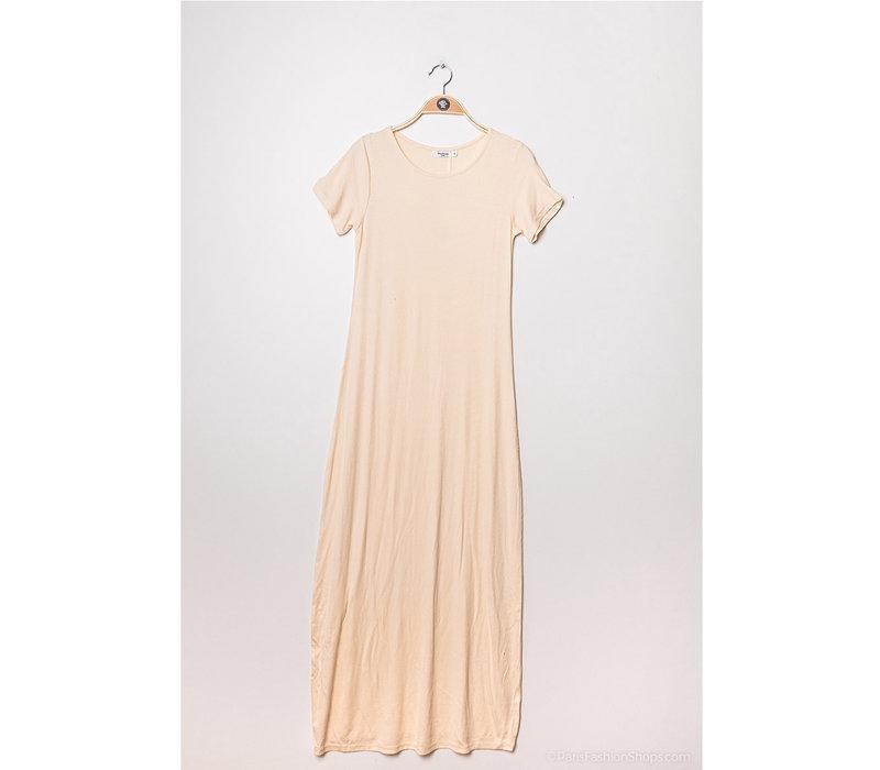 SOFT WHITE MAXI DRESS
