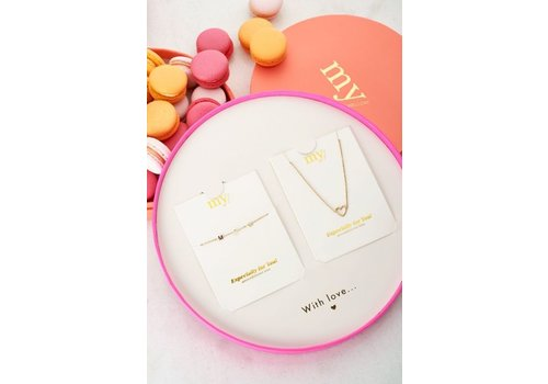 GIFTBOX MOM HEART GOLD