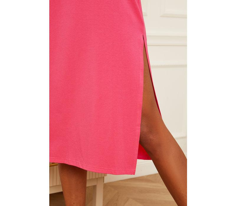 BIBI SHIRT DRESS - PINK