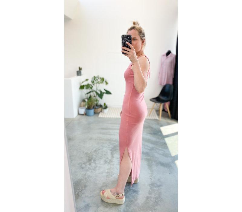 RENEE MAXI DRESS - PEACH