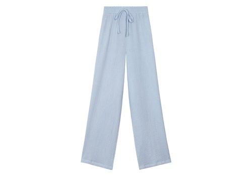 COTTON PANTS- BLUE