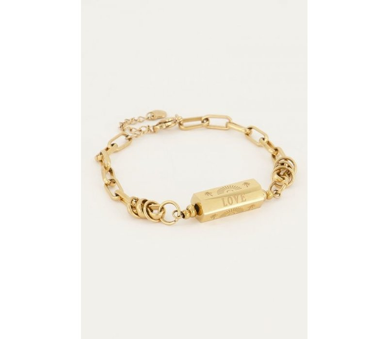 LOVE IBIZA BRACELET GOLD