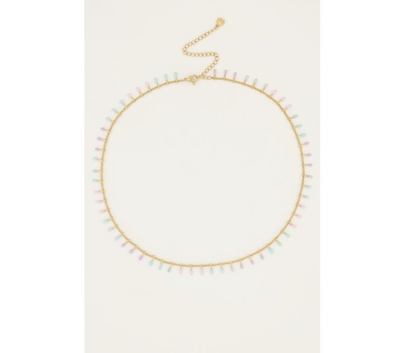 PASTEL NECKLACE GOLD