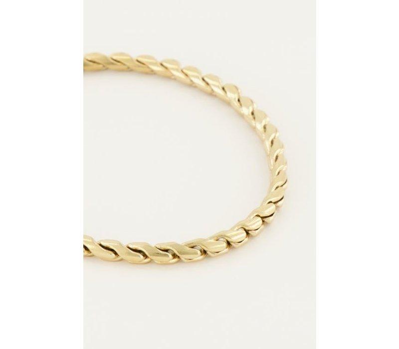 TWIST BRACELET GOLD