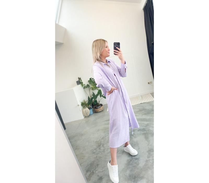 MONA LILA TETRA DRESS - TU