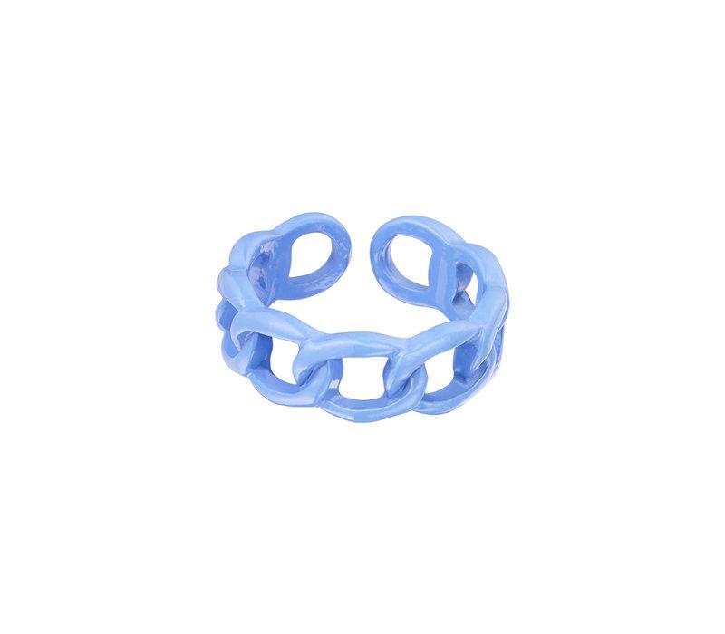 CANDY RING SCHAKEL BLUE