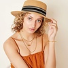 SUNNY DAYS HAT - BROWN