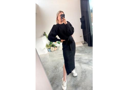 JORDAN DRESS - BLACK