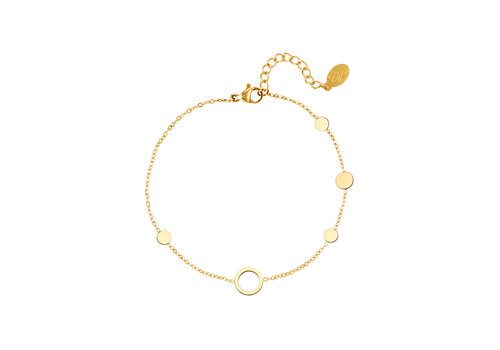 CIRCLE BRACELET GOLD