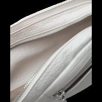 BRILLAY MATTE CROCO - WHITE
