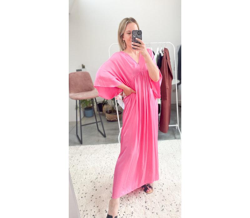 MATTI DRESS PINK - ONE SIZE
