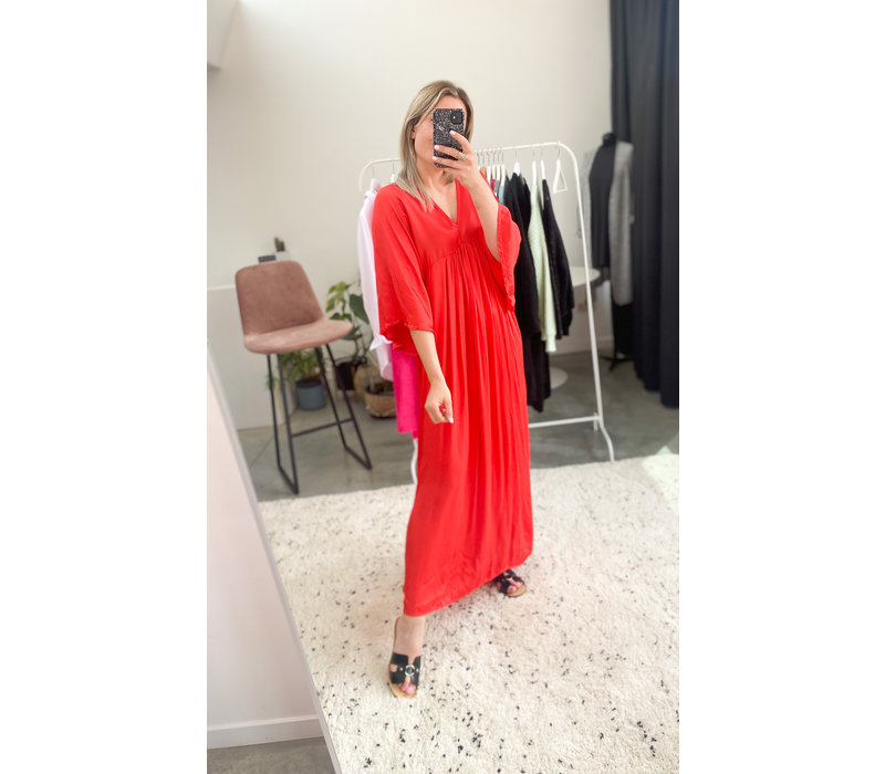 MATTI DRESS ROUGE - ONE SIZE